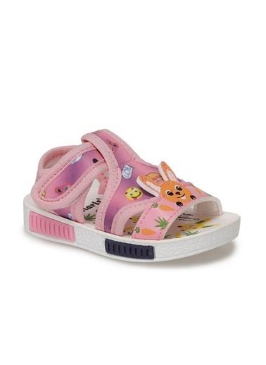 Polaris 512498.B Kız Çocuk Sandalet Pembe
